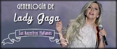 Banner Lady Gaga - Apellidos Italianos