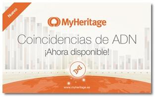 Coincidencias de ADN MyHeritage