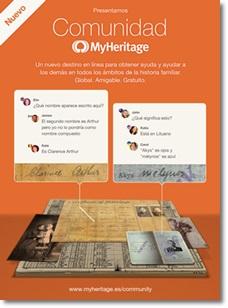 Comunidad MyHeritage